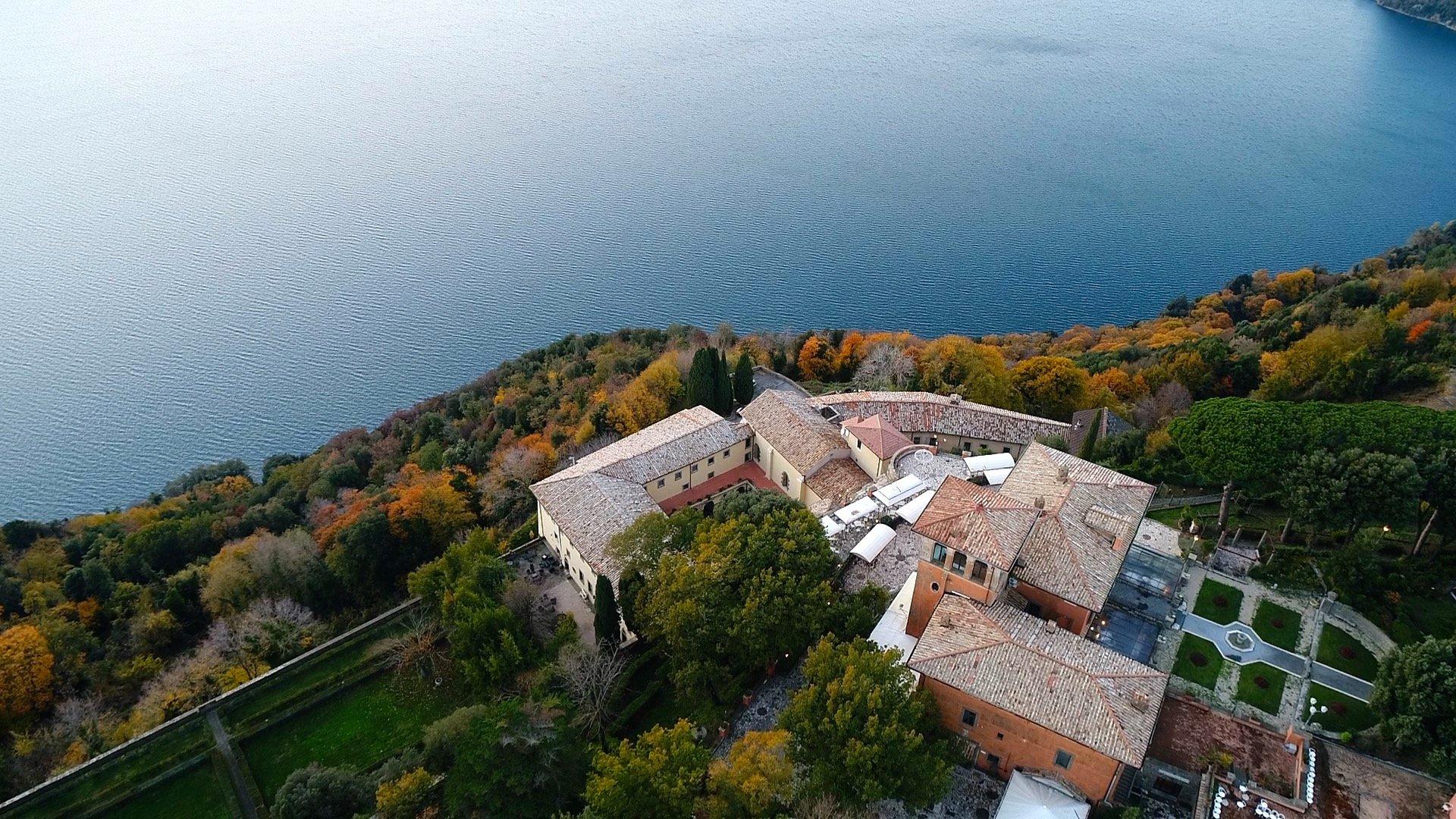 riprese_fotografie aeree droni lazio ristorante lago