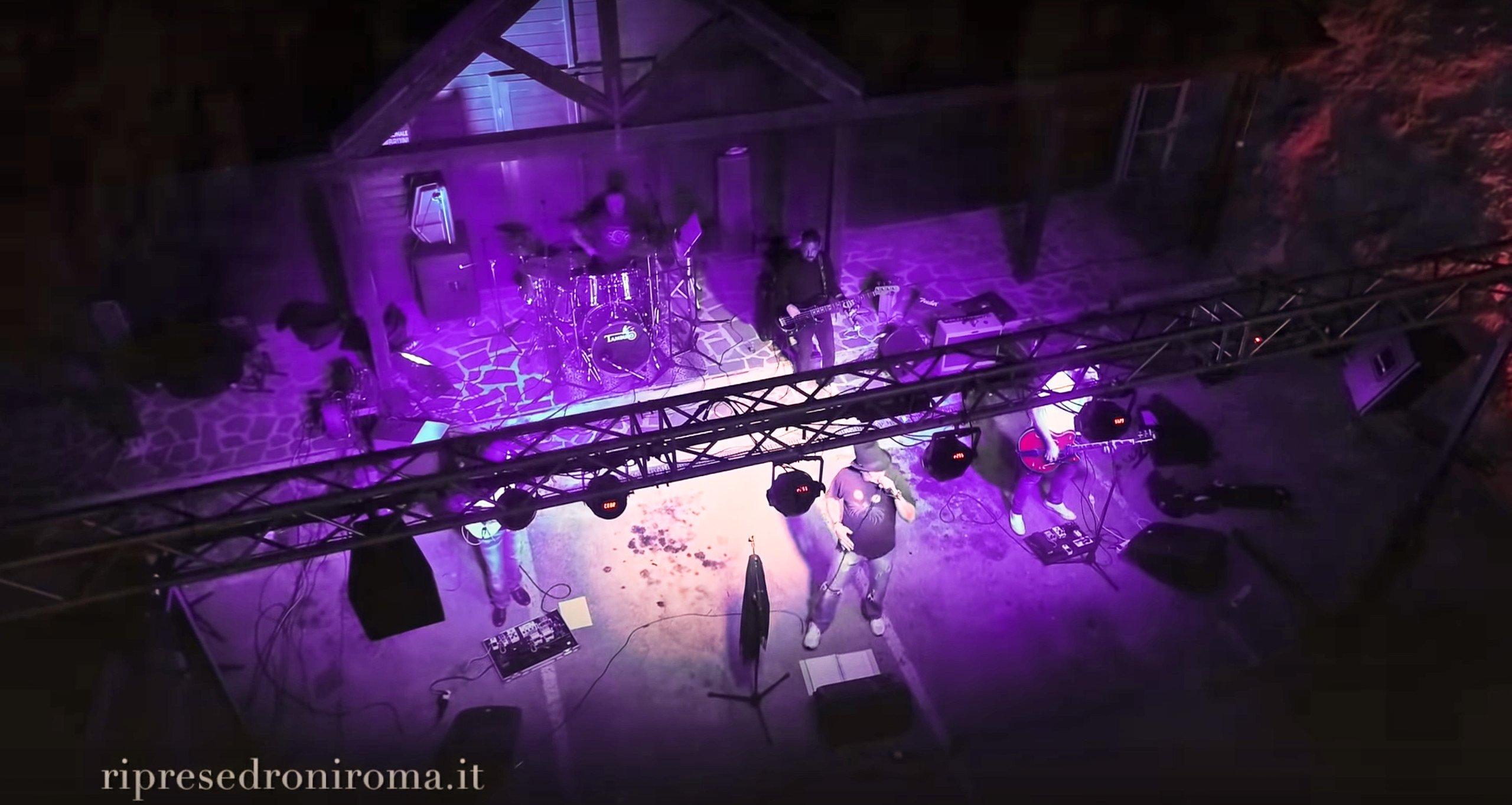 estratto di un video musicale